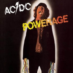 ACDC - powerage - 1978 - promo album cover pic - #33