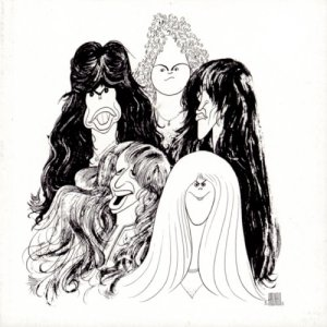 Aerosmith - Draw The Line - promo cover pic - #121977