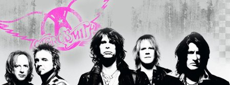 Aerosmith - Facebook Promo Band Banner - #1231TH