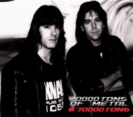 Annihilator - Jeff Waters - Coburn Pharr - 70000tons of metal - promo pic - 2015