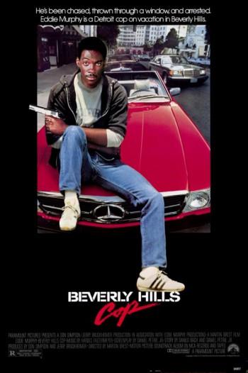 Beverly Hills Cop - Promo Movie Poster - #1985EM