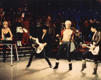 Billy Idol - American Bandstand - publicity pic - #1982DC
