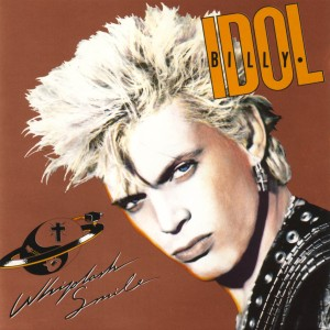 Billy Idol - Whiplash Smile - promo cover pic - #1986BI