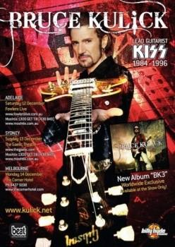 Bruce Kulick - BK3 - promo album flyer - #2010BK