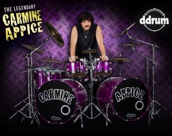 Carmine Appice - ddrum - promo flyer - #2008CA