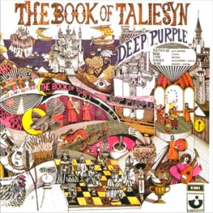 Deep Purple - The Book Of Taliesyn - promo album cover pic - #1968JLIPRB