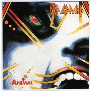 Def Leppard - Animal - promo CD single - cover pic - #1987JEDL