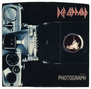 Def Leppard - Photograph - promo 45rpm - single cover sleeve - #1983PC