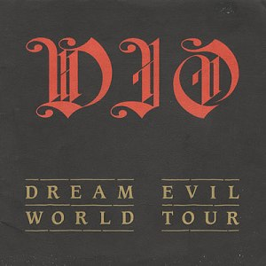 DIO - Dream Evil - World Tour - tour program - promo pic - #1987RJD