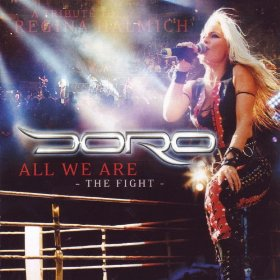 Doro - All We Are - The Fight EP - promo album cover pic - #2007DP