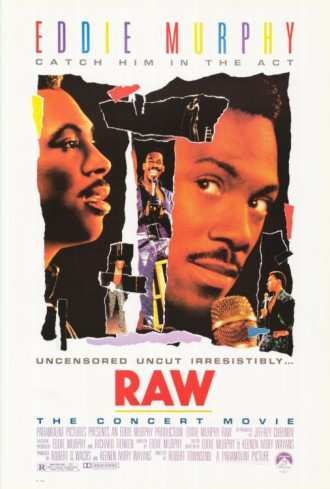 Eddie Murphy - Raw - promo movie poster - #1987EMC