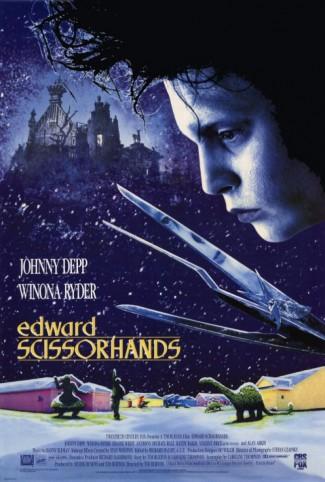 Edward Scissorhands - promo movie poster pic - #1990JDEPP