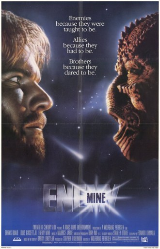 Enemy Mine - promo movie poster pic - #1985D