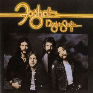Foghat - Night Shift - promo album cover - #1976F