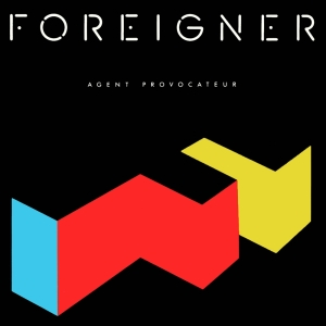 Foreigner - Agent Provacateur - promo album cover pic - #1985MJ