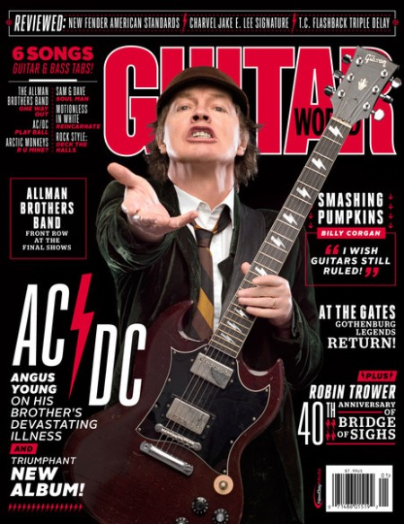 Guitar World - January - 2015 - Angus Young Issue