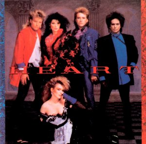 Heart - promo album cover pic - #1985ANW