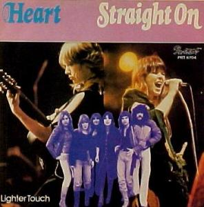 Heart - Straight On - promo 45rpm - cover sleeve - #1919ANW