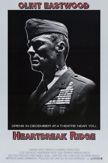 Heartbreak Ridge - promo movie poster - #1986 - Clint Eastwood