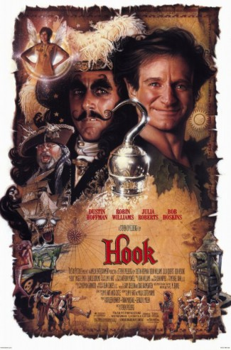 Hook - promo movie poster pic - Robin Williams - #1992RWF