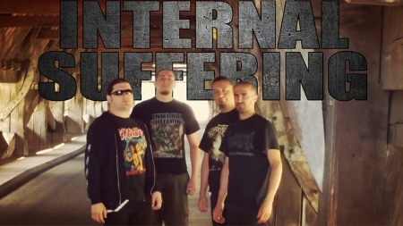 Internal Suffering - promo band - band logo - banner - 2014IS