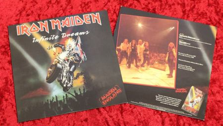 Iron Maiden - Infinite Dreams - Live - Maiden England - vinyl promo pic - #1989