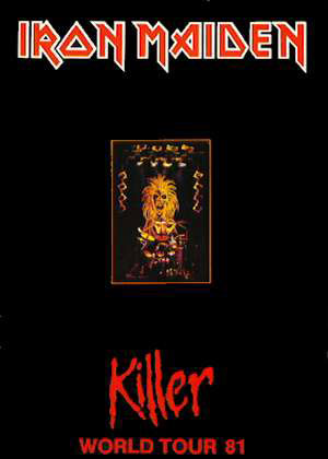 Iron Maiden - Killer - World Tour - 81 - #33312