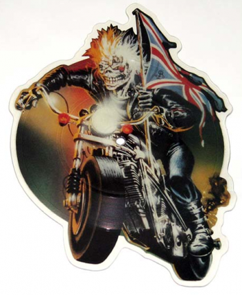 Iron Maiden - picture disc - Infinite Dreams - die-cut - #1988 - 73
