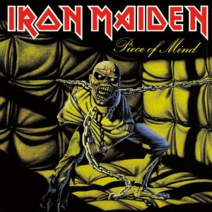 Iron Maiden - Piece Of Mind - promo album cover pic - #1983BDSH
