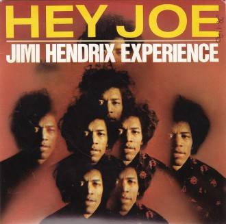 Jimi Hendrix Experience - Hey Joe - 45rpm - single cover sleeve - 1966JH
