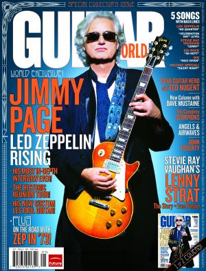 Jimmy Page - January 2008 - Guitar World - promo cover pic - #33JP