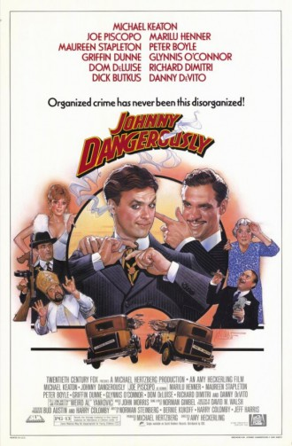 Johnny Dangerously - promo movie poster pic - #1984MKJP