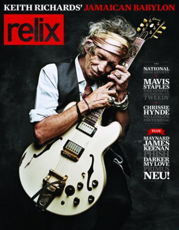Keith Richards - Relix - magazine cover promo