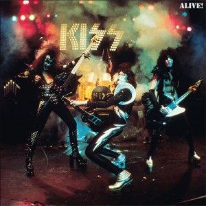 KISS - Alive! - promo album cover pic - #1979AF