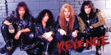Kiss - Revenge - album promo banner - bruce kulick
