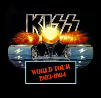 KISS - World Tour - 1983-1984 - Lick It Up - promo flyer - #122683