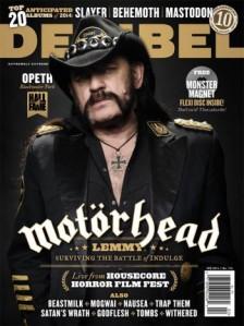 Lemmy - Motorhead - Decibel cover promo pic - #661224