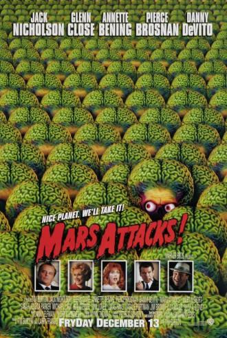 Mars Attacks! - promo movie poster pic - #1996DDJNGC