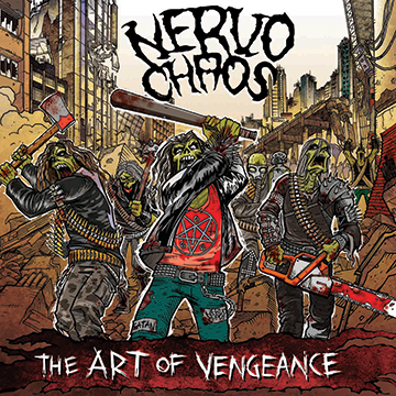 NervoChaos - The Art Of Vengeance - promo album cover pic - 2014