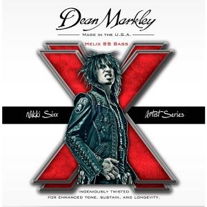 Nikki Sixx - Dean Markley - Helix SS Bass strings - promo ad