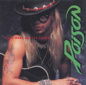 Poison - Every Rose Has Its Thorn - promo 45rpm - single cover sleeve - #1988PM