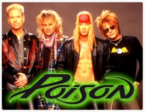 Poison - publicity band pic - band logo - #19991205