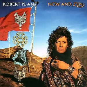 Robert Plant - Now And Zen - promo album cover pic - #1988RP