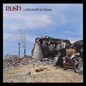 Rush - A Farewell To Kings - promo album cover pic - #1977GLNPR
