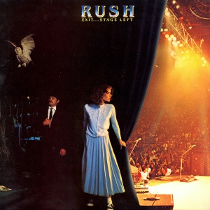 Rush - Exit Stage Left - promo album cover pic - #1981GL