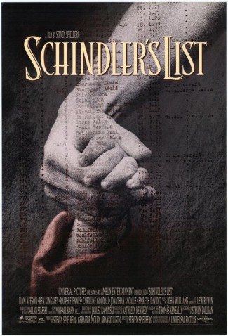 Schindlers List - promo movie poster - 1993 - #3393LN