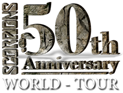 Scorpions - 50th Anniversary World Tour - band logo - 2014