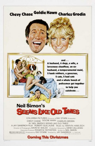 Seems Like Old Times - promo movie poster - #1980GHCCCG