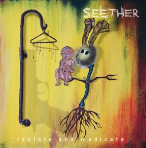 Seether - Isolate And Medicate - promo album cover pic - 2014 - #07SM