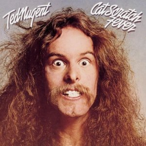 Ted Nugent - Cat Scratch Fever - promo album cover pic - #1977TN